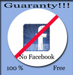 NO FACEBOOK LOGO FOL-CKA